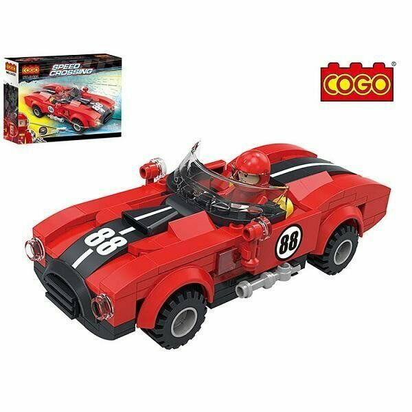 SPEED CROSSING ROADSTER 173 PCS BUILDING BLOCKS