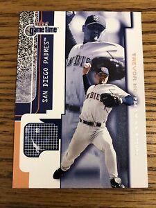 Trevor Hoffman 2001 Fleer Game Time Padres Card #13  *3472*
