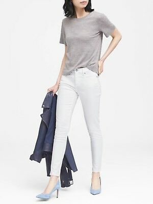 NWT Banana Republic High-Rise Skinny Button-Fly Jeans Size 30R