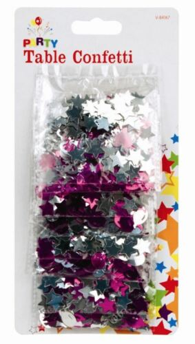 Table Confetti Stars Balloons Streamers Wedding Decoration Acrylic Gem Party
