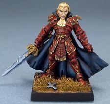 Gabriel Vampire Reaper Miniatures Dark Heaven Legends Undead Anti Paladin Melee