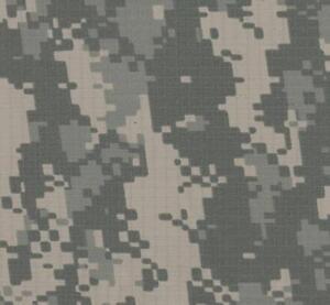 "Camo Ripstop Fabric NyCo Saudi Arabian Desert 62/"" Camouflage Hunting Military"