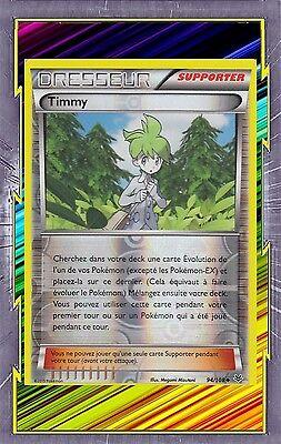 Carte Pokemon Neuve Française Timmy Reverse XY6:Ciel Rugissant 94//108