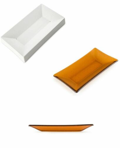 "BULLSEYE MOLD 8945 SMALL RECTANGLE 9.5 x 5.4/"" Ceramic Kiln Formed Glass Fusing"