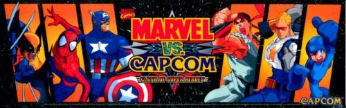 "11604 Arcade Classics Marquee Multicade Capcom Art Sticker 16/"" × 4/"""