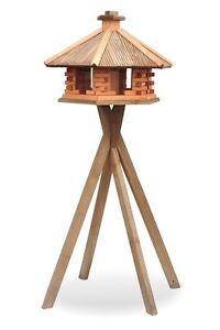 vogelhaus aus holz mit ständer kdw3 + s1 xxl vogelhäuschen | ebay, Moderne