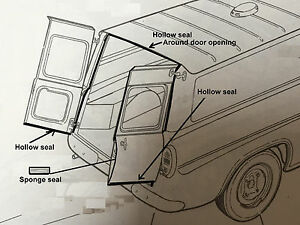 Image is loading Ford-Anglia-307E-Van-Rear-Door-Seal-alternative & Ford Anglia 307E Van Rear Door Seal (alternative )   eBay