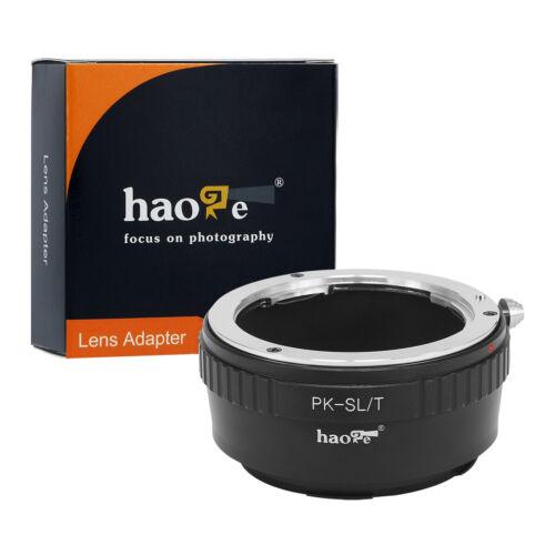 Lens Adapter for Pentax K PK Mount Lens to Leica L Mount Camera Typ701 Typ601