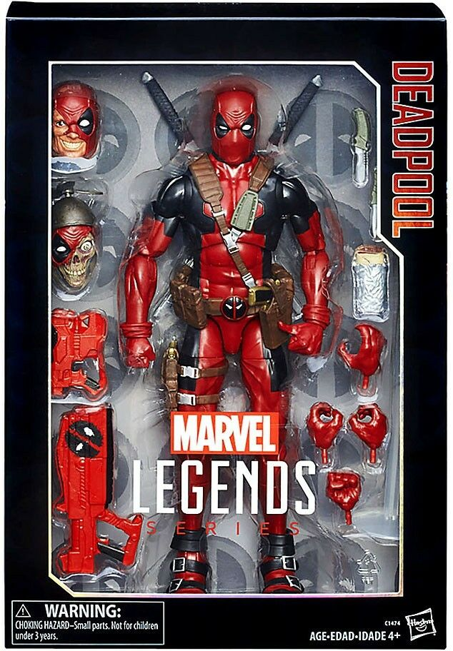 Marvel Legends Deadpool Deluxe  Collector azione cifra  Prezzo al piano