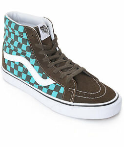 Vans SK8 Hi Reissue Size 9.5 Men s Shoes 50th Ceramic Checkerboard ... 982b646dbd