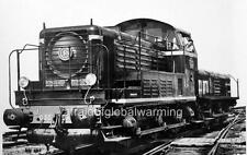"Photo 1948 France ""Electric-Diesel Locomotive Train SNCF"""