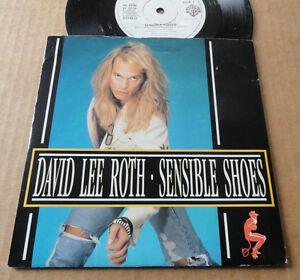 DISQUE-45T-DE-DAVID-LEE-ROTH-034-SENSIBLE-SHOES-034