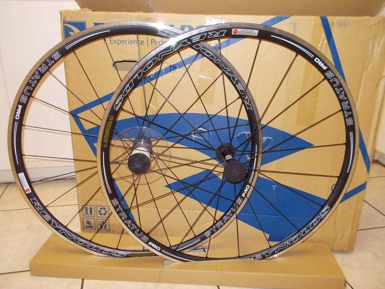 Bicycle wheelset 700c reynolds aluminum stratus pro lightweight 11speed