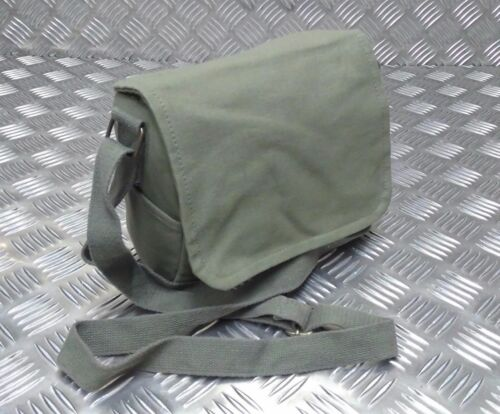 NEW Military Style Mini Canvas Shoulder Bag Small Effects Light Green