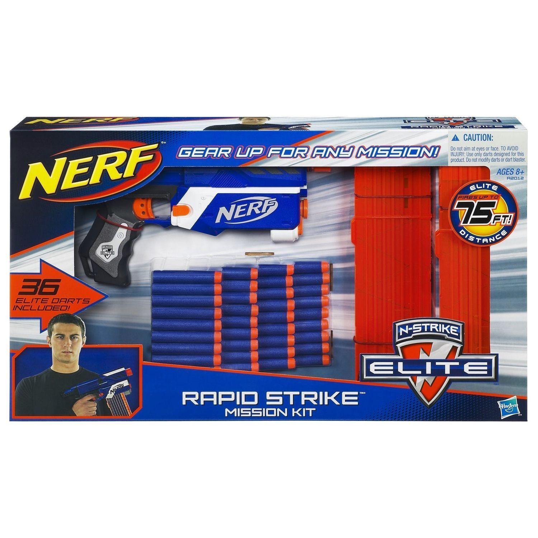 exclusivo Nueva Marca Nerf Nerf Nerf N-strike rápida huelga misión Kit Dart Blaster Raro  compra en línea hoy