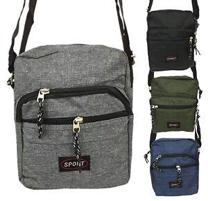 Tasche-Damen-Herren-Umhaengetasche-Flugbegleiter-klein-Sport-Bag-Handtasche-1315