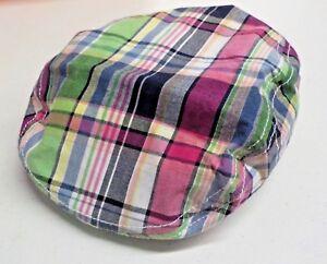 Kleding en accessoires Girl's Size 2T-3T Gymboree Pink/Green Plaid Flat Cap New Nwt #8285