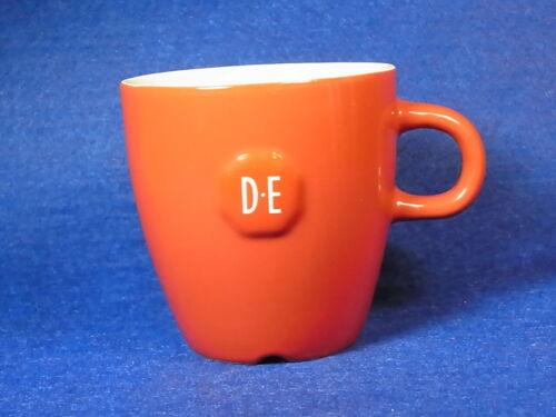 SENSEO DOUWE EGBERTS DESIGN CAPPUCCINO ROT RED TASSE CUP MUG