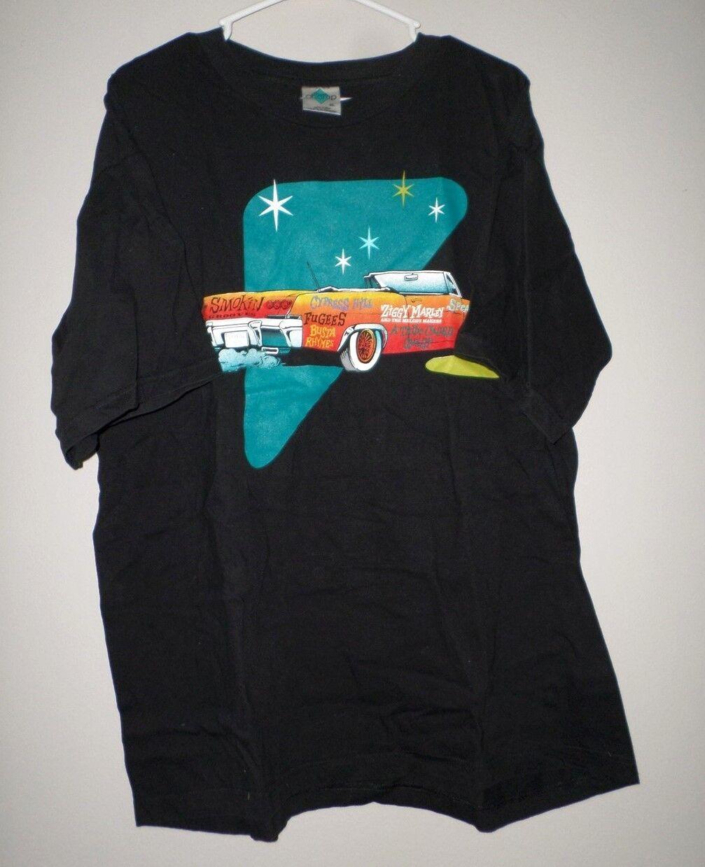 CYPRESS HILL hip hop T shirt shirt shirt XL Tribe Called Quest tour tee Ziggy Marley 1996 25e00e