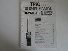 Kenwood TR-2600A/E (Solo Manual De Servicio Original)... radio _ trader _ Irlanda.