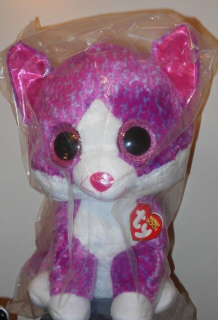 926b0c3cff7 Ty Beanie Boo Charlotte Pink Cat Large Jumbo 16 for US Buyers for ...