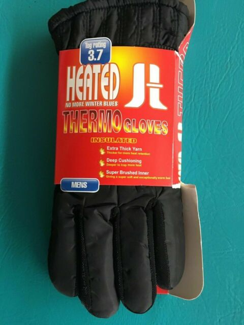 3 COLOURS MEN/'S HOT GLOVE THERMAL BRUSHED GLOVES