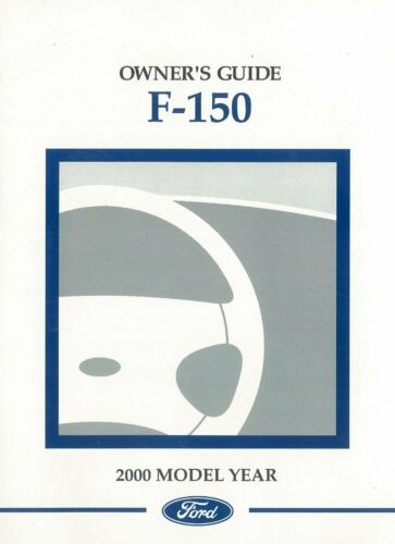 Bishko OEM Maintenance Owner/'s Manual Bound for Ford Truck F-150 2000