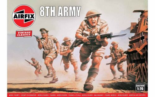 Airfix AX00709V 1:72 British 8th Army /'Vintage Classics series/'