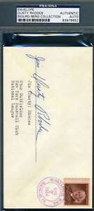 Dusty-Rhodes-Psa-Dna-Coa-Autograph-1954-Envelope-Hand-Signed-Authentic