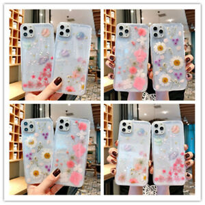 High-Quality-Real-Dried-Flowers-TPU-Transparent-Case-Cover-For-iPhone-11Pro-MAX