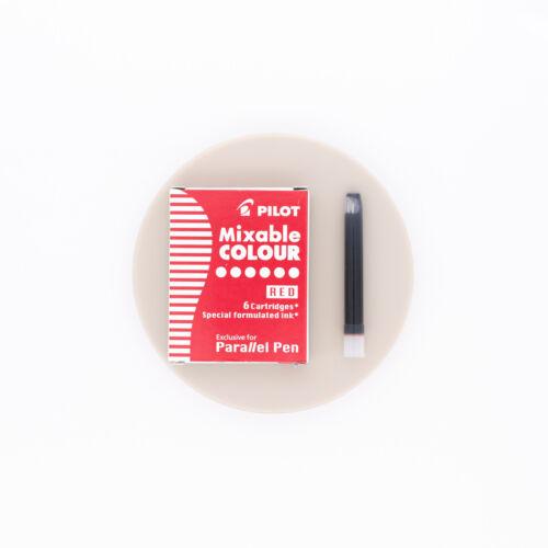 Pilot Mixable Colour Rosso 6 Cartucce per Parallel Pen