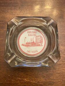 Vintage-Holiday-Casino-Las-Vegas-Clear-Glass-Ashtray-4-034