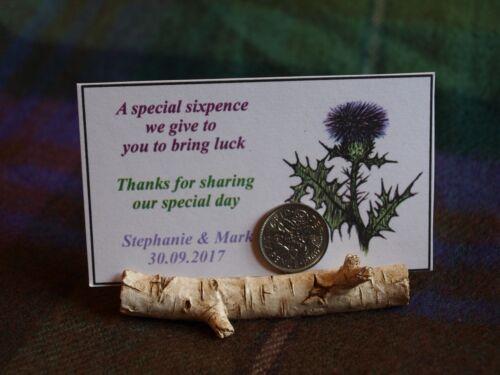 Birch Tree Log Place Card Holder Fall Autumn Wedding Favors