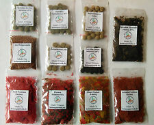 Futter Probier-Paket (11 Sorten) Flockenfutter, Futtertabletten, Granulat, ...