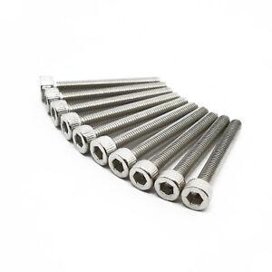 0.5mm M3 x 20mm Socket Head Cap Screws Bolts A2 18-8 Stainless Steel