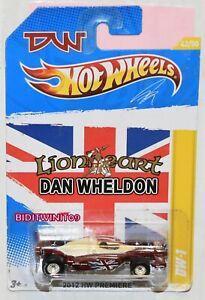 Hot Wheels 2012 Neuf Modèles Dan Wheldon DW-1