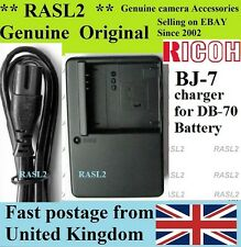 Genuino, originale, caricabatterie RICOH BJ-7 DB-70 BP-DC6, Caplio R6 R7 Caplio R8 RICOH