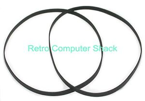 "Amstrad CPC 6128 & 6128 Plus PCW 8256, DD1, FD1 Etc  3"" Disk Drive Belts x2"