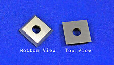 """Square 12mm (.472"""") Carbide Insert Cutter for Wood"""