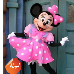 Image is loading New-Adult-Size-Minnie-Mouse-Mascot-Costume-Halloween- & New Adult Size Minnie Mouse Mascot Costume Halloween Cosplay Disney ...