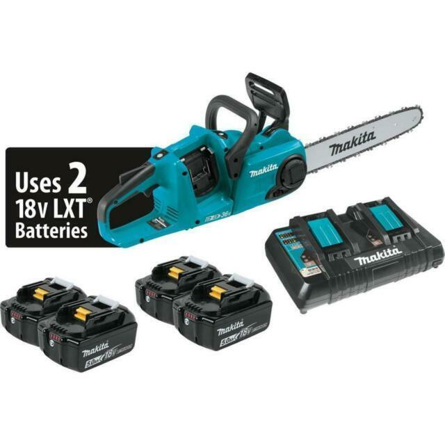 Makita XCU03PT1 18V X2  Cordless 14-Inch Chain Saw Kit