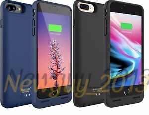 new styles 25844 42638 Details about Alpatronix iPhone 8 Plus Battery Case With Qi Wireless  Charging, BX190plus Slim