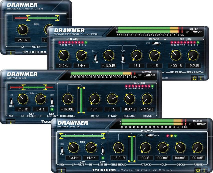 Drawmer TourBuss iLok license asset for Digidesign (TDM) Venue system Windows XP
