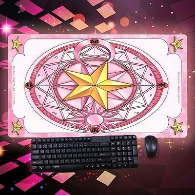HOT Huge Anime Mouse Pad Card Captor Sakura Clow Card GAME mat Play Mousepad