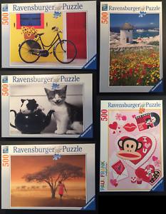 Teatime Paul Frank Affe Mykonos Ravensburger Puzzle 500 Teile Fahrrad Massai