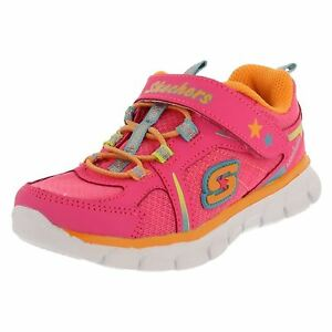 a7128fdccb38 Details about GIRLS INFANTS SKECHERS LOVESPUN PINK MEMORY FOAM TRAINERS  SHOES 80868