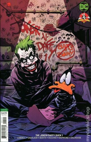 The Joker Daffy Duck Special #1 Variant Cover!