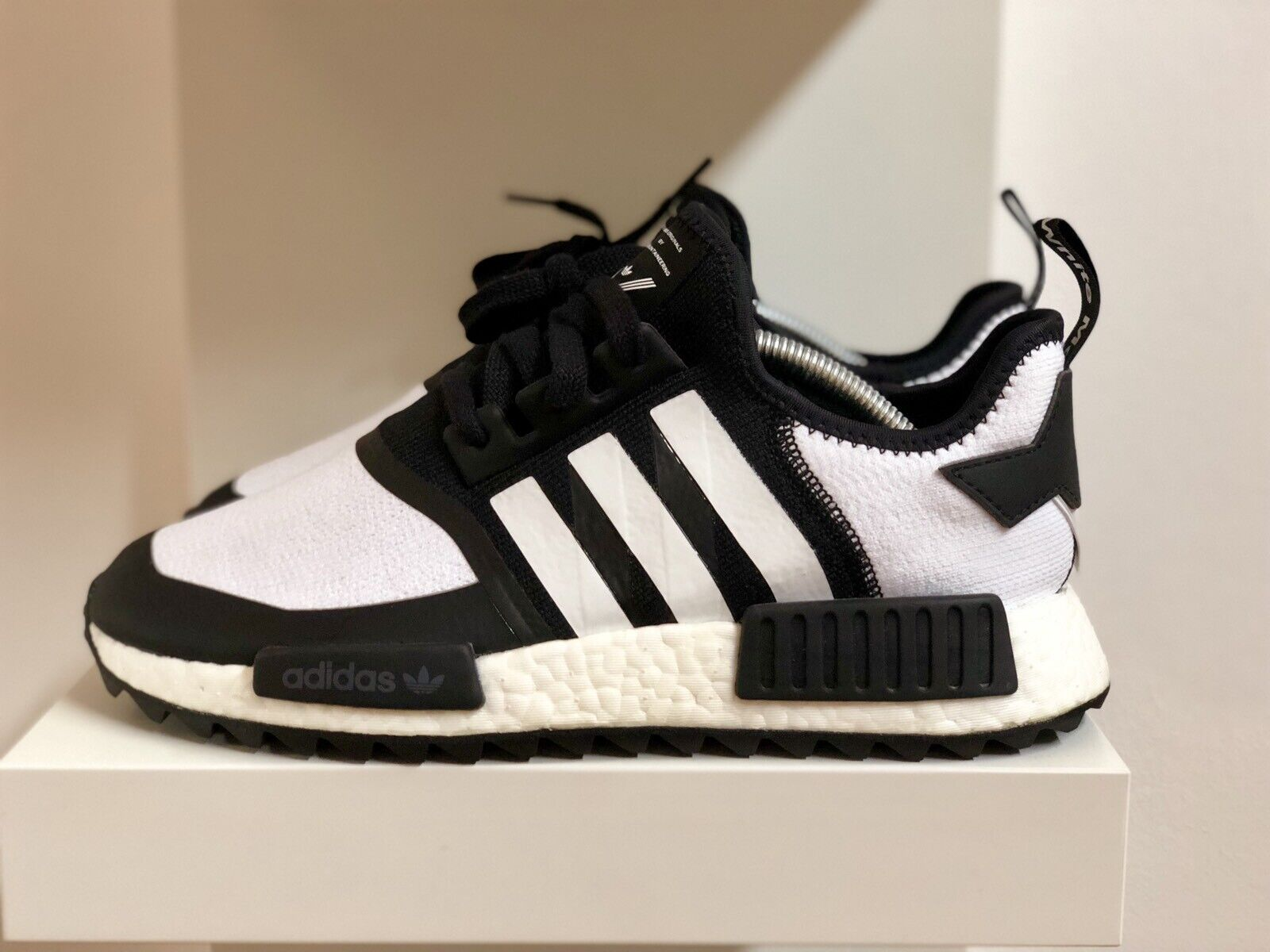 58d6a94696e1e Adidas X White Mountaineering Nmd Trail Pk. BS510 MBT shoes bluee leather  men ...