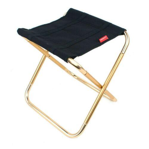 Portable Folding Chair Outdoor Camping Fishing Picnic Hiking BBQ Stool Mini Seat