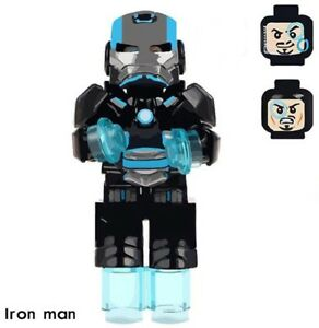 Iron Man Marvel War Heroes Building Blocks Interesting Toys Gifts For Children